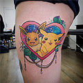 Tattoo by Jo Candymachine